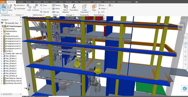 General Arrangement Plant Process Engineering Design