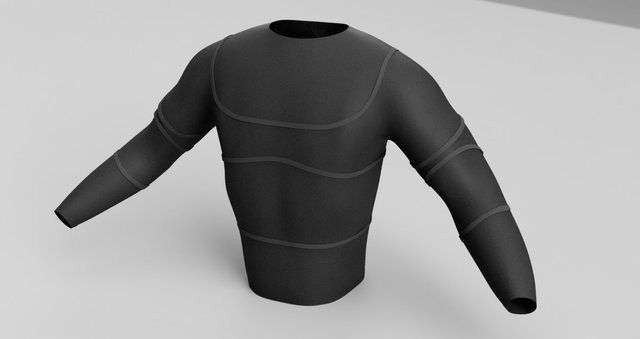 Smart Shirt Concept Design