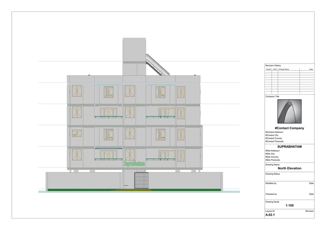 Elevations using ArchiCAD