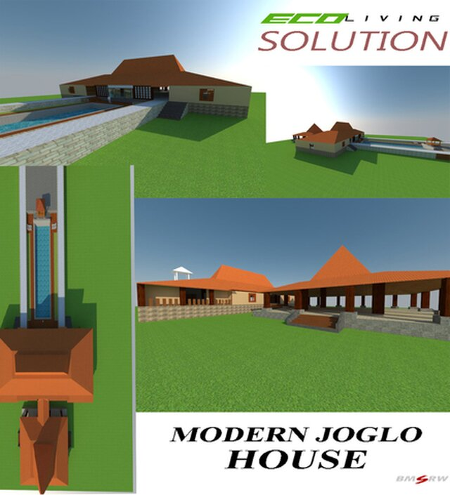javanesse style Modern Housing