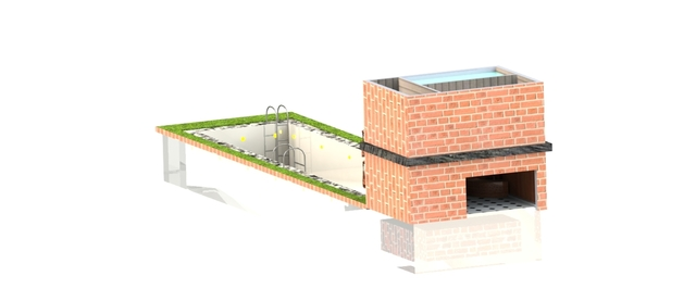 Swimming Pool 3D design