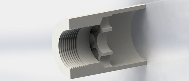 Pipe injection nozzle