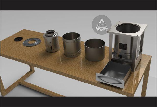 Biomasa brazier concept