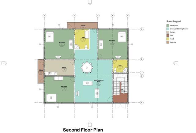 Architectural  CAD Design by Revit .