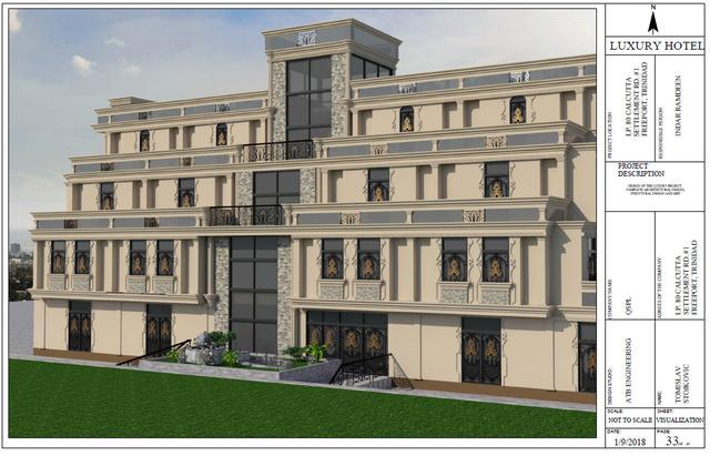 Luxury Hotel project (QPSL Company, Trinidad & Tobago)