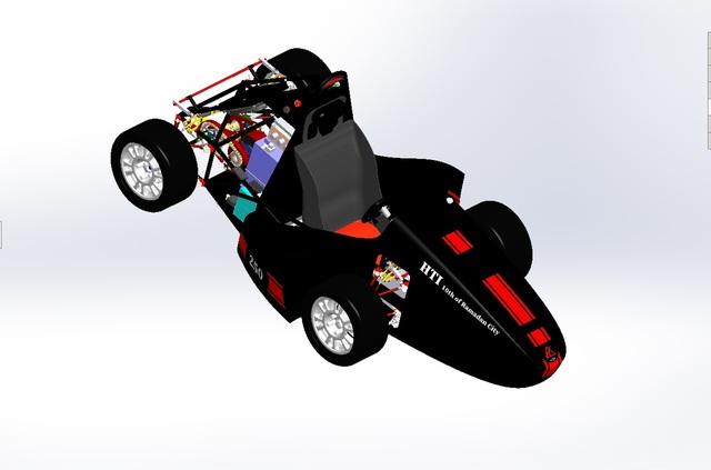 vehicle dynamics of a formula car