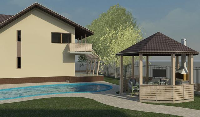 Designing houses projects - Autodesk Revit BIM