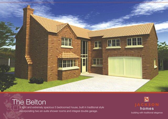 Jackson Homes 3D visuals