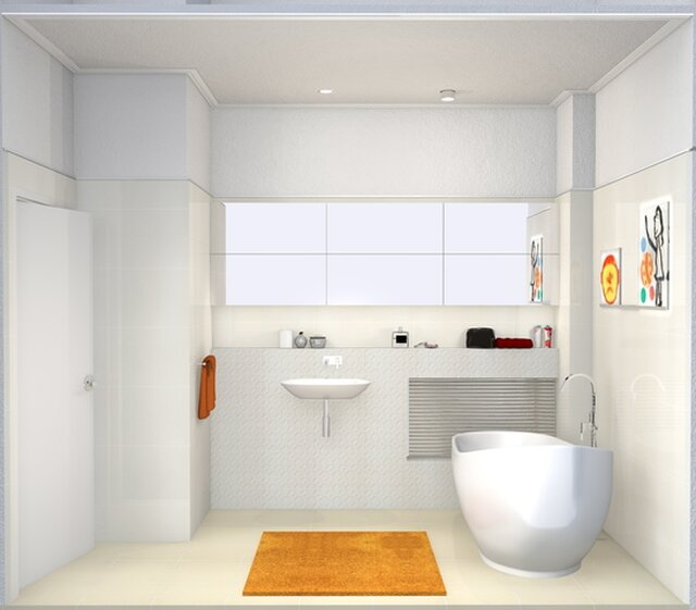 Storage Spaces Remodeling into a Private Living Space/ Second Floor