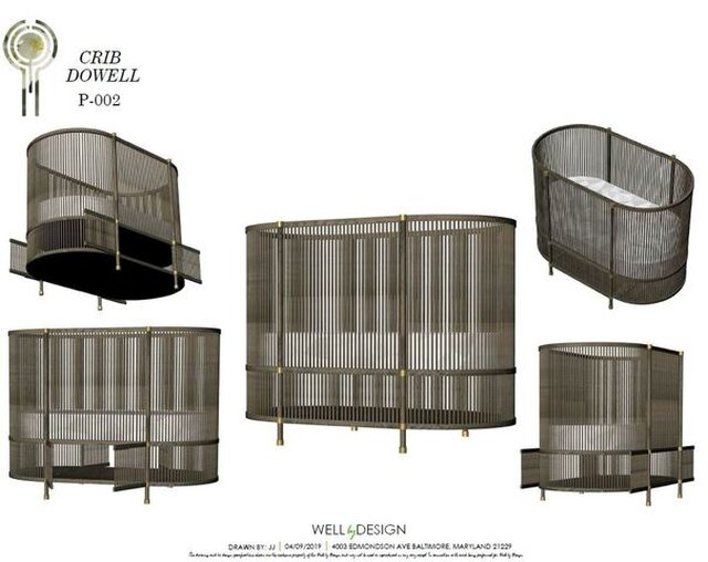 Dowel Crib