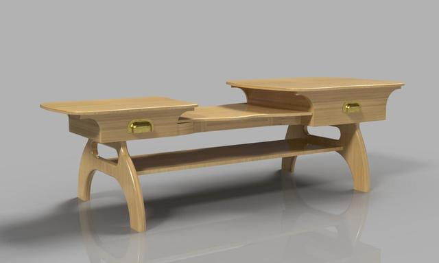 Multi-level Coffee Table