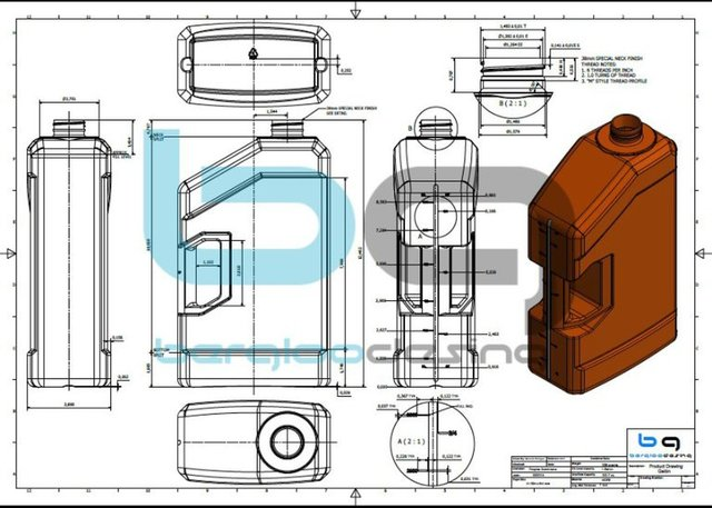 Oil Container Desing