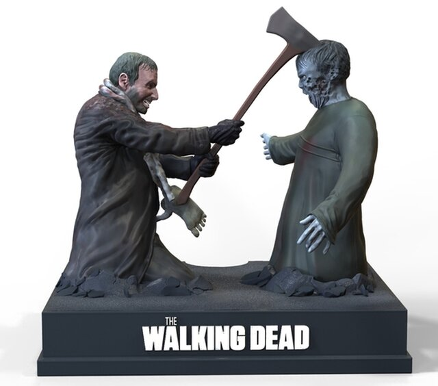 Walking dead dvd box