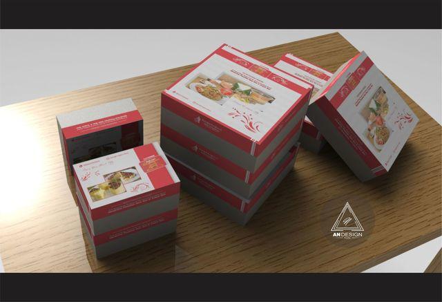Simple packaging box