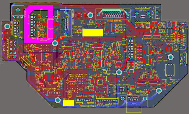 Centrifuge Safety Controller Mainboard
