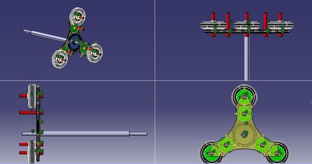 epicycling gaer arrangement
