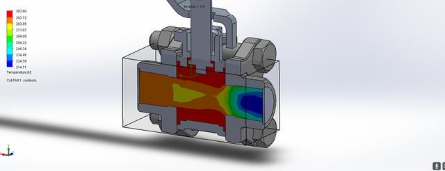 Butterfly valve & Ball Valve Simulation