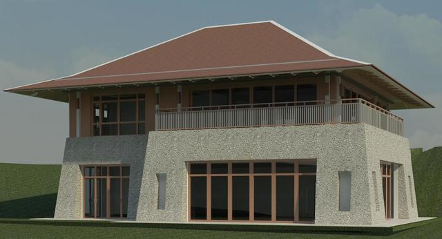 Revit Residential Clubhouse