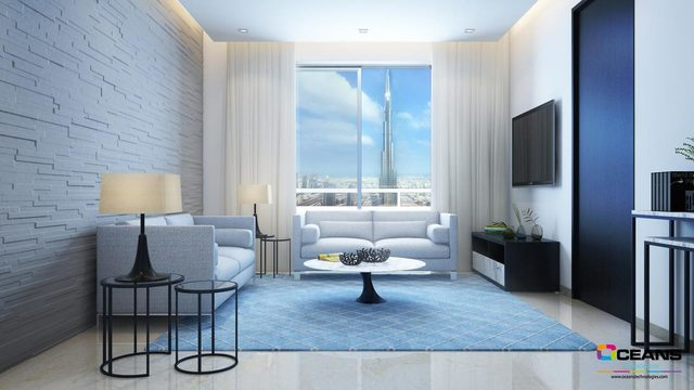 3D Interior and Interior 3D Rendering