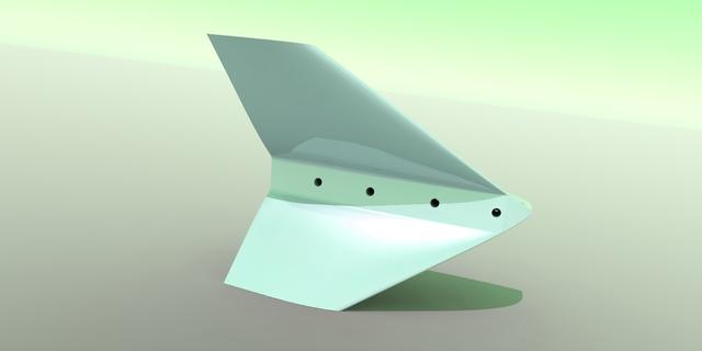 Split Scimitar Winglet