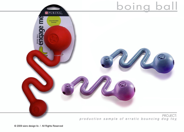 Design and invention of this random bouncing  Dog Toy