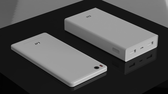 MI Power Bank and MI4i smart phone