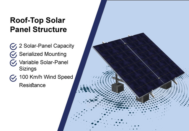 Roof-Top Solar-Panel Structure