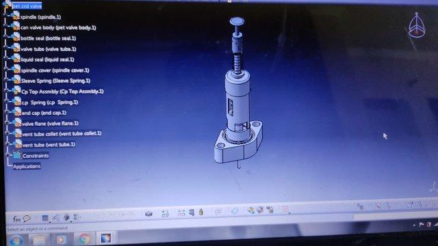 Soft drink filling valve