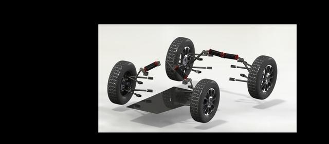 4 Wheeler suspension system