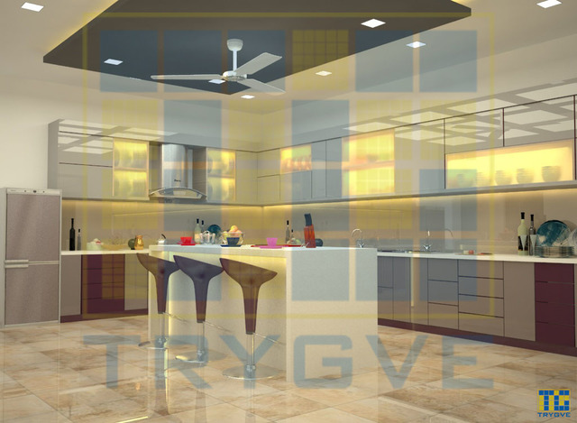 Kitchen 3D Interiors