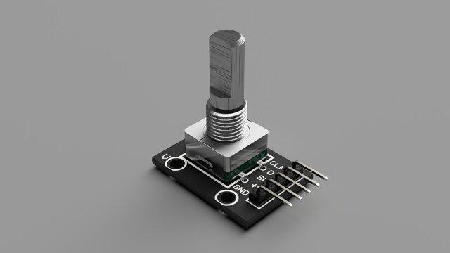 360 Degree Rotary Encoder Brick Sensor Module