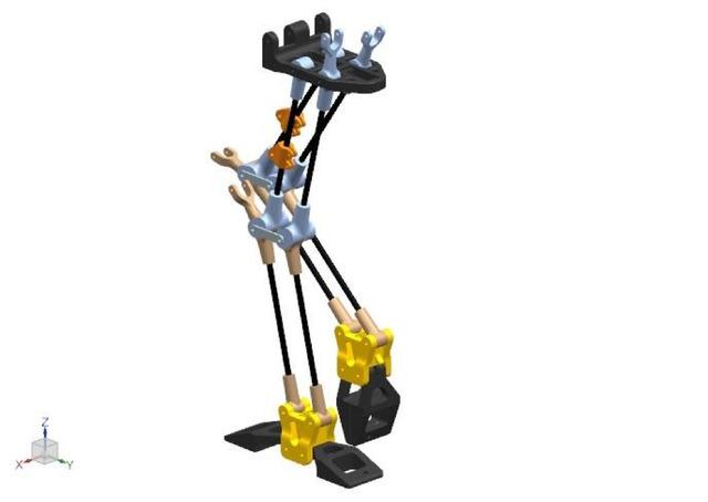 Walking Crane Robot