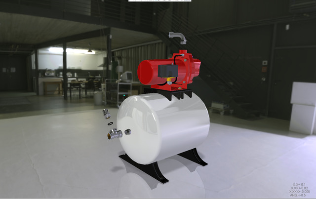Pump-Tank Assembly