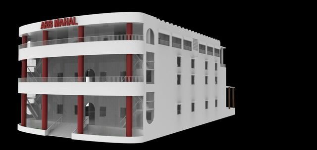 Just designed a Merriage hall design for a Orhitect firm in India