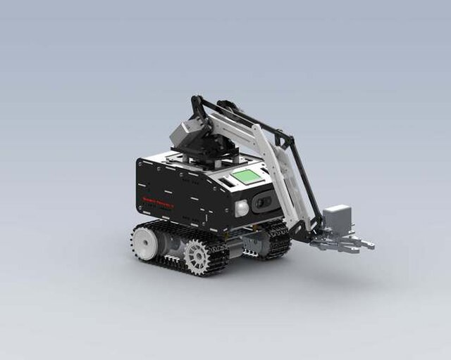 Explorer-1 & OTRA.2.0 ( Object Transpot Robot Arm 3DOF )