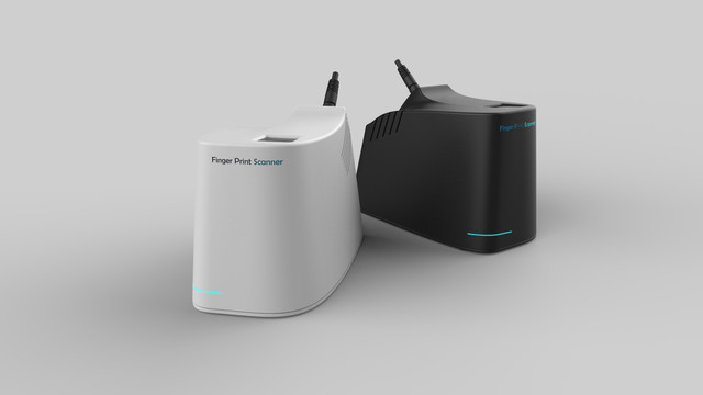 Finger Print Scanner [Product Design] [Electronics Enclosure]