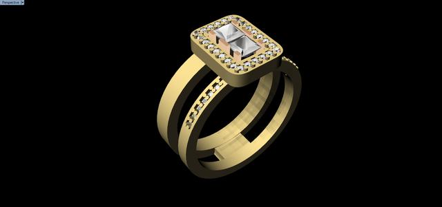 Gold K18 Ring