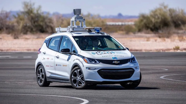 Roof-Mounted Autonomous Vehicle Sensor Platform