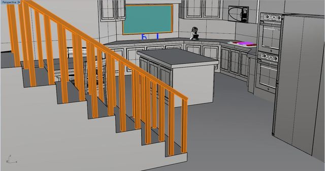 Kitchen Design and Rendering Side Project