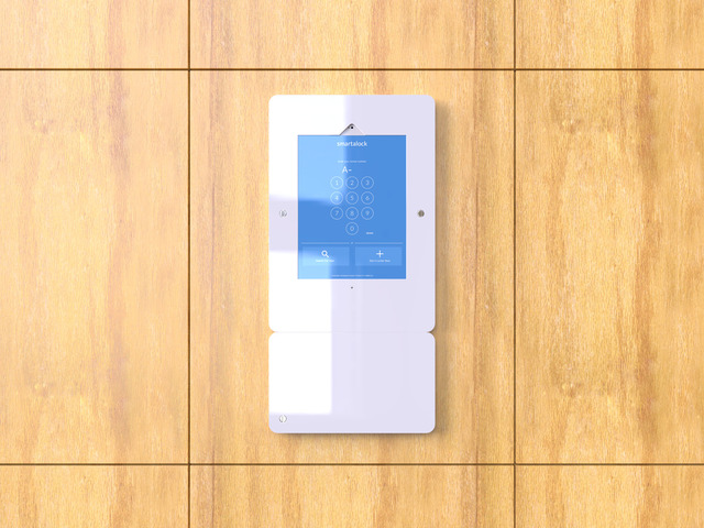 iPad and RFID kiosks for smart locker system