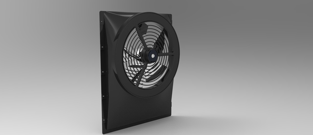 radiator fan cover