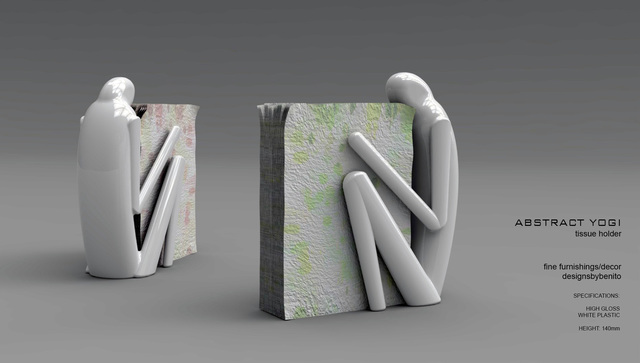 Abstract Yogi - Tissue Holder