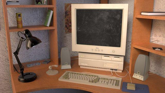 Retro Desktop Visualisation
