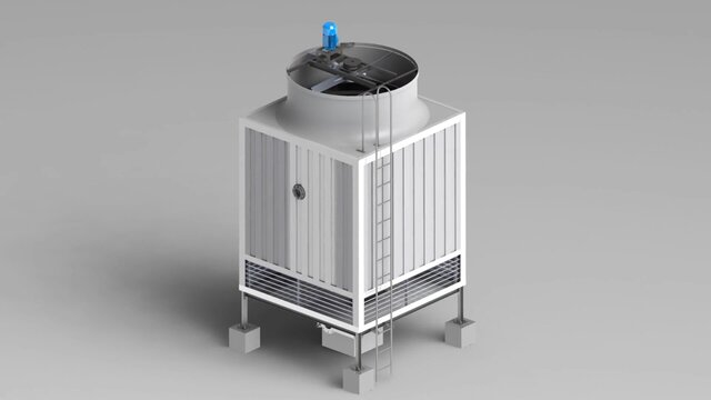 Full scale Cooling Tower- Model1