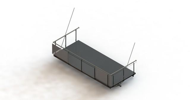 Hanging terrasse