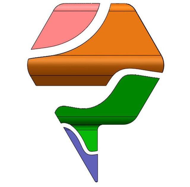 3D Logo Deconstruction