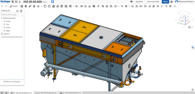"""Data Conversion and Design Modification on """"Onshape"""" Software"""