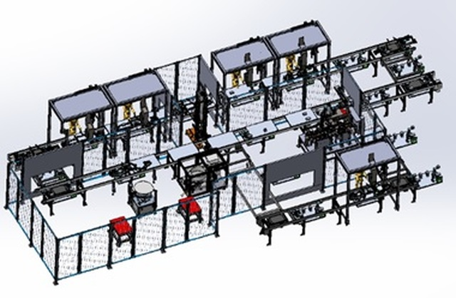 Semi-Automated IP Assembly Cell