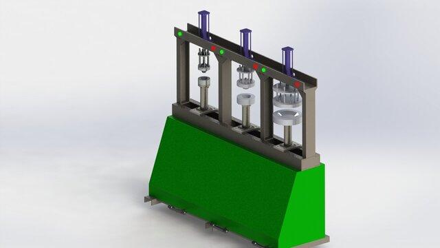 Areca Leaf Plate Making Machine * 3D Cad Model