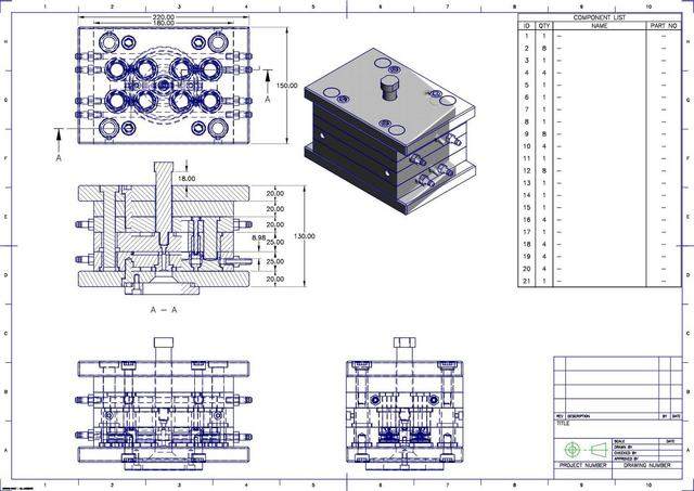 Automatic Injection Mold